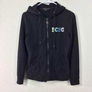 BCBGMaxAzria Jackets & Coats - BCBGMAXAZRIA SEQUINED SWEAT JACKET